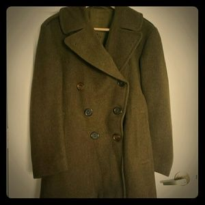 Other - Vintage WWII Army pea coat